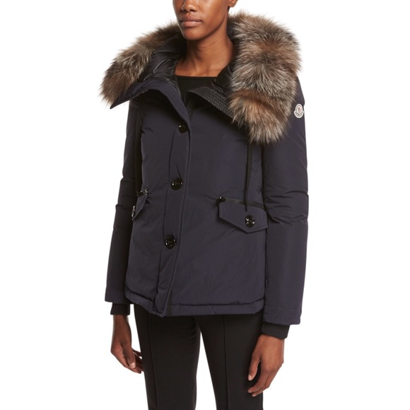 moncler jacket fur